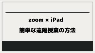 zoom iPad